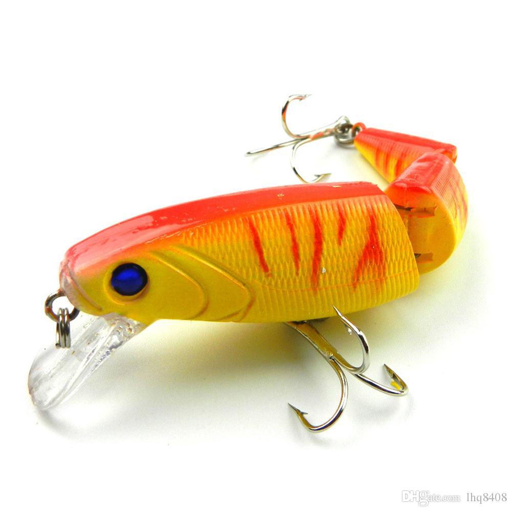 INFOF 14 g / 0,49 oz Isca Artificielle articulé leurre de pêche leurre Crankbait dur appâts de pêche Swimbait Pesca leurres pour bass brochet