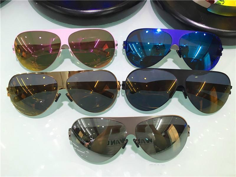 81ed4c23eb New Mykita Sunglasses Franz Pilot Frame with Mirror Lens Ultralight ...