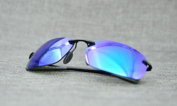 Hot-sale Super-light sunglasses high-quality male sporty polarized UV400 protection MJ724 rimlesss sunglasses googles