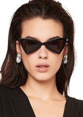 Lüks 207 Güneş Gözlüğü Moda Kadınlar Üçgen Tam Çerçeve SL 207 Modeli UV400 Lens Yaz Tarzı siyah Beyaz Kırmızı Renk Paketi Ile Gel