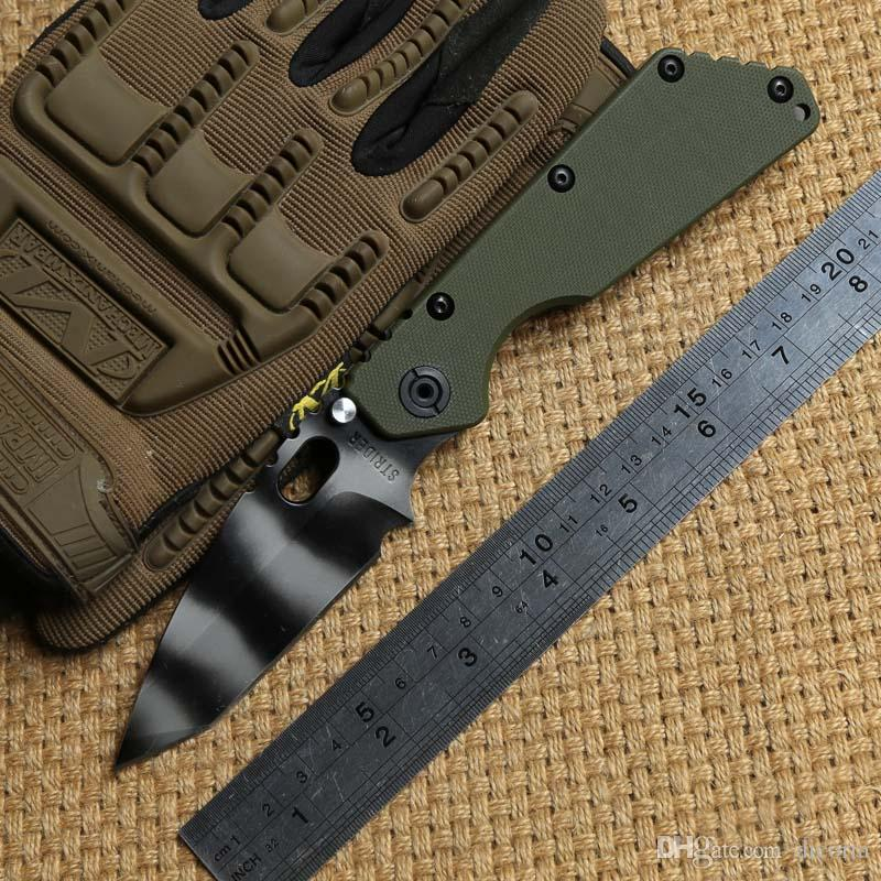 Y-START SMF Tactical Knives RW-1 NAVY Tanto Rogue warrior knife S35VN blade  G10 Titanium Flame texture Handle Outdoor Survival Knives tools