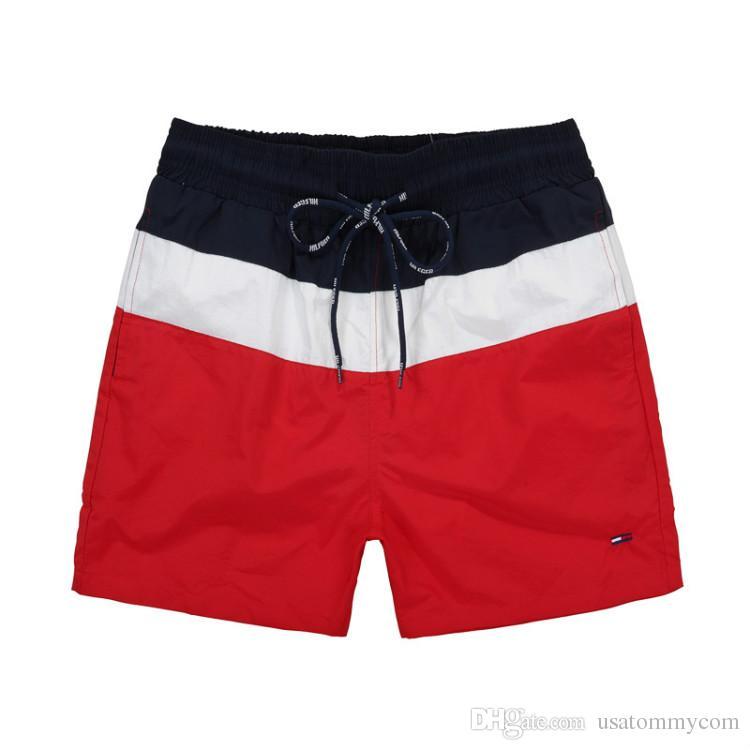 5dfccd85c22f7f 2019 2018 Summer Swimwear Beach Pants Mens Board Shorts Black Men Surf  Shorts Small Horse Swim Trunks Sport Shorts De Bain Homme HOT From  Usatommycom