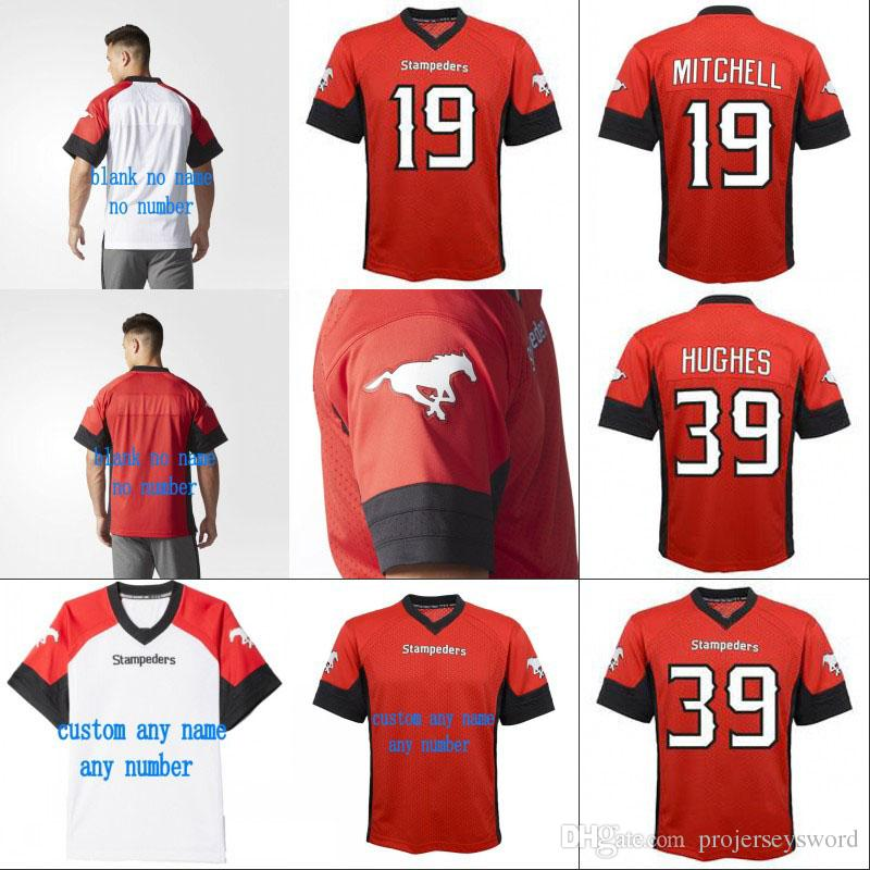 3f4b55d50 2019 2018 New Style Calgary Stampeders Jersey 19 Bo Levi Mitchell 39  Charleston Hughes 100% Stitched Personalized Football Jerseys From  Projerseysword, ...
