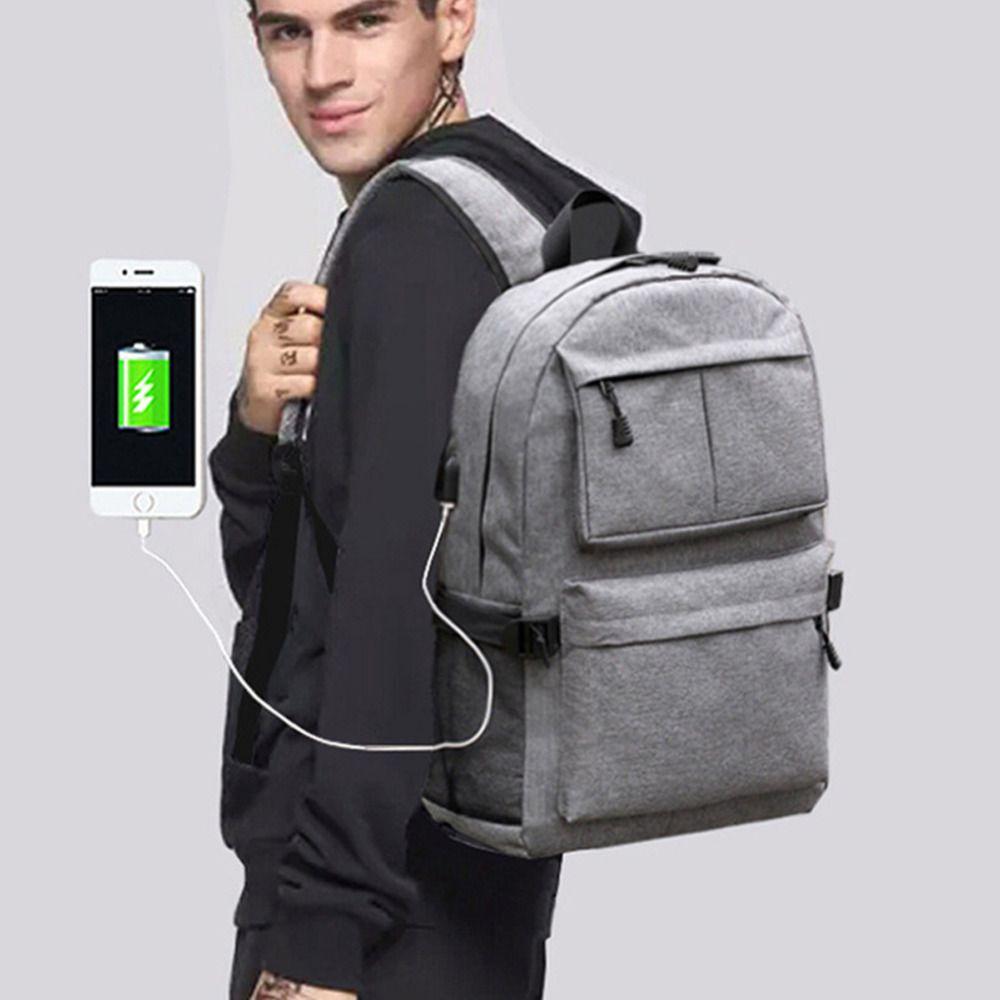 d6924c89fb45 Cartinoe Casual USB Charge Backpack Male Mochila Escolar 15.6 inch Laptop  Backpack bags men women School Bags for teens