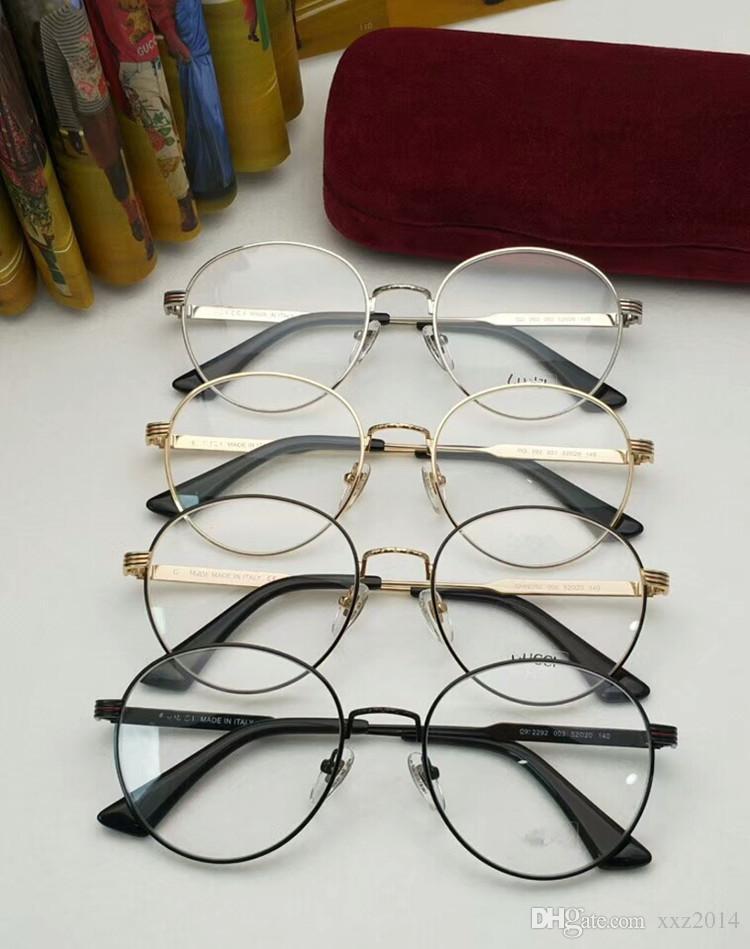 6ac9d539129 2018 CG2292 Glasses Muti-color Stripe Temple Korea Vintage Metal ...