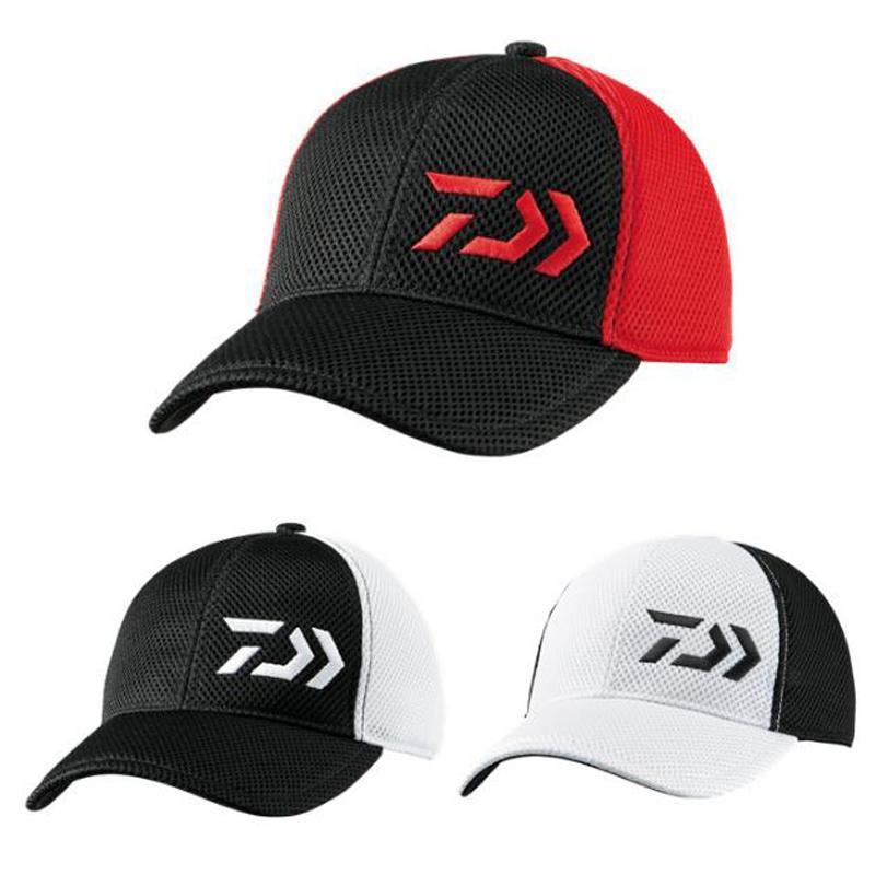 f2de7e08fea97 2019 New 2017 Adult Men Adjustable Fishing Hat Sport Baseball Daiwa Brand Japanese  Japan Sunshade Fishermen Cap With From Huiqi02