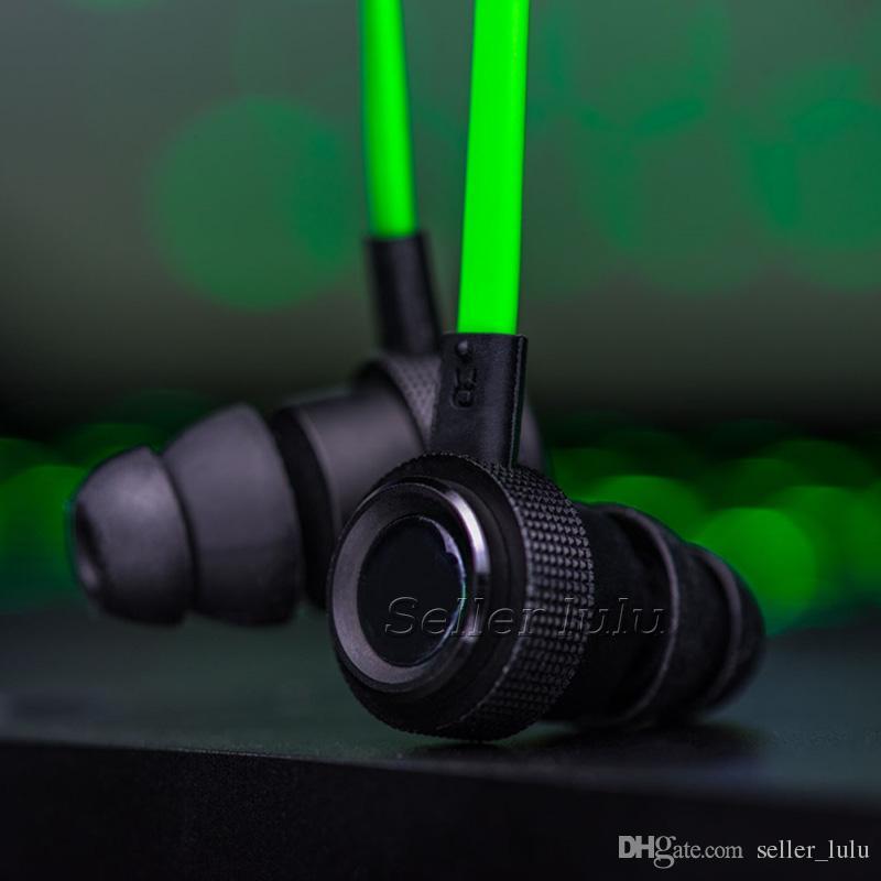 Hammerhead Pro V2 jogo Fone De Ouvido no ouvido fone de ouvido Com Microfone Com Caixa De Varejo Em fones de ouvido Gaming Headset Isolamento de Ruído Estéreo Baixo 3.5mm