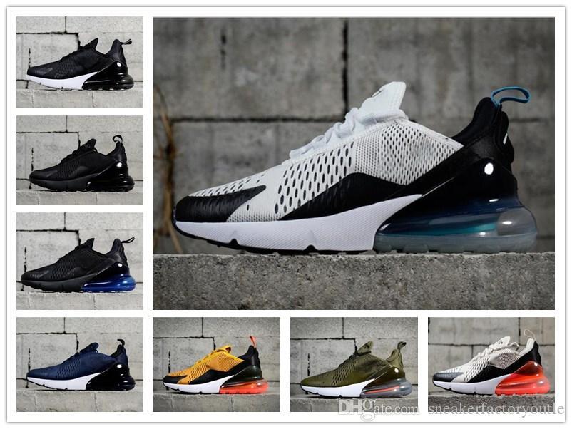36 Chaussures Triple Chaussures course 270 Black sport Femmes Sneakers Sport de 46 Bottes Hommes Taille 2018 de TOP qualité 270s Sneakers jLA35R4