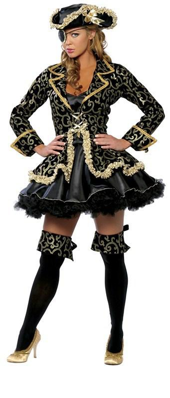 faa336bb2d3 Deluxe Pirate Wench Ladies Fancy Dress Womens Adults Halloween Costume  Outfit