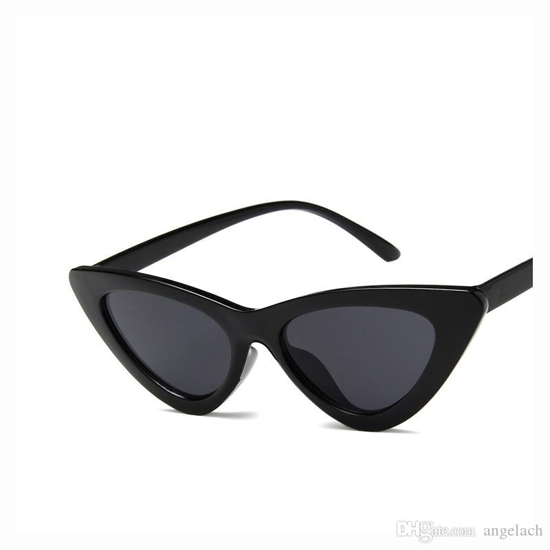New Cat Eye Triangle Sunglasses For Women Fashion Uv Protection