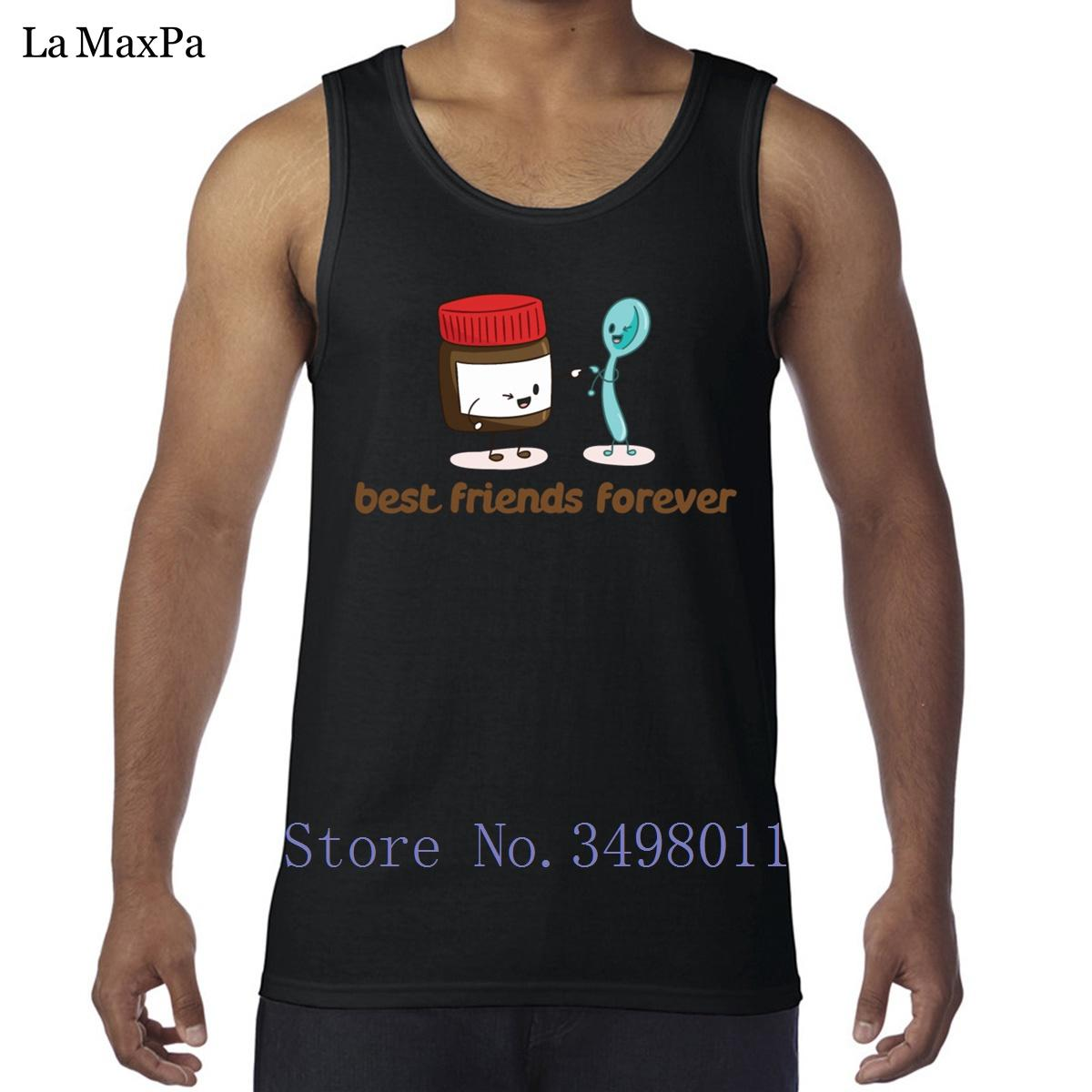 484824fc78 2019 Customized Kawaii Happy Friendship Day Bestfriend Mens Tank Top  Bodybuilding Singlets Classical Vests For Men Sleeveless Workout From  Easme, ...