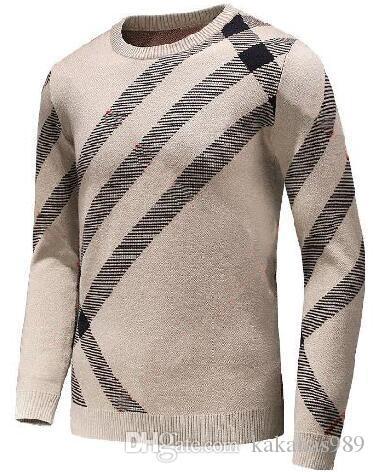 864284178f76 Großhandel Beste Verkauf 2018 Marke Kleidung Frühling Männlich London Brit  Pullover Männer Casual Herren Pullover Mode Baumwolle Strickwaren England M  3xl ...
