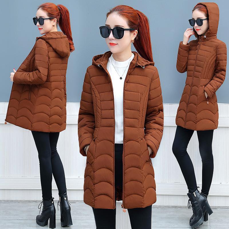 separation shoes 2da29 e61fd Donna giacca invernale parka di alta qualità inverno donna giacca corta con  cappuccio elegante donna caldo abiti eleganti K4097