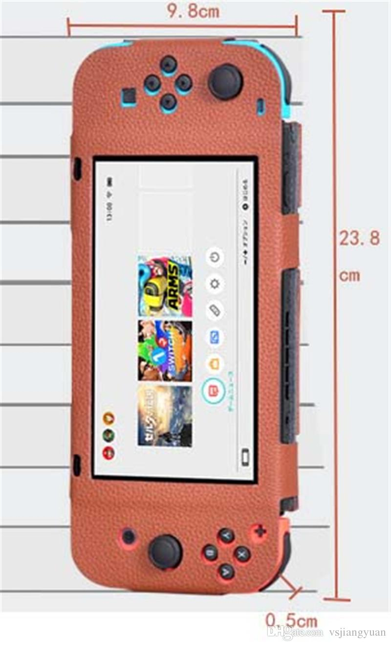 2017 Yüksek kaliteli Oyun konsolu kapak deri çanta NX / NS palm mobil oyun 6.2 inç 3 renkler