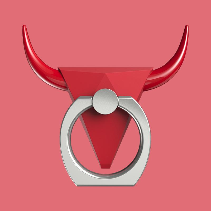 Coole bull style 360 grad umdrehung multifunktions handy halterung metallständer für iphone 8 6 plus ring schnallen halter für samsung s7