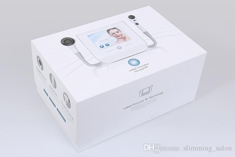 ¡Envío gratuito de DHL! 2 en 1 modelado corporal estiramiento de la piel enfriamiento por vacío enfocado RF Thermolift para equipos de belleza de estiramiento facial CE / DHL