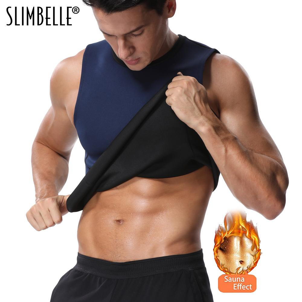 9c2f387a15 2019 Men Women Body Shaper Hot Sweat Workout Tank Top Slimming Neoprene  Vest For Weight Loss Tummy Fat Burner From Florence33