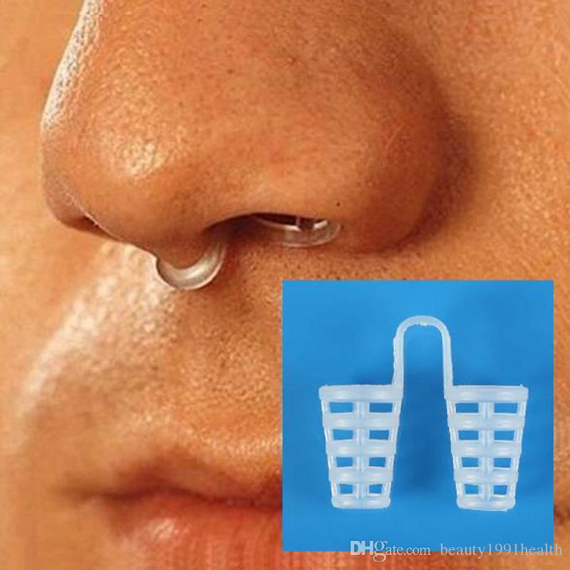 Nuevo silicona Mini dilatadores nasales Dejar de roncar Conos de ronquidos Respirar-Fácil Ayuda para la congestión Pinza para la nariz Herramienta para dejar de roncar