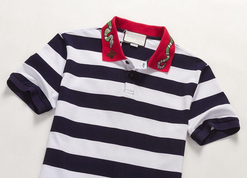 T-shirt Männer 2018 Marke Männlichen Kurzarm Stickerei Druck T-Shirts Mens Casual Mens Slim T-shirt Slim T mit tags Hohe Qualität M-3XL