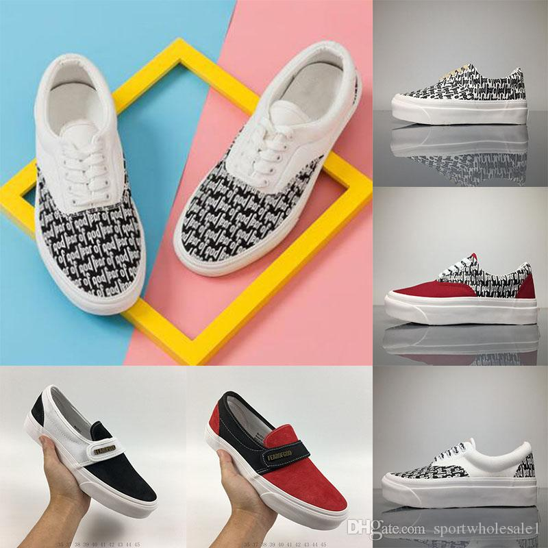 lowest price cheap online fake sale online 2018 MATTYBOY the top quality MEN Women Casual Shoes Fashion Fear of God x Vault Casual lovers Canvas shoes size:36-44 free shipping low cost sale perfect cheap sale best sale VpDRHJ