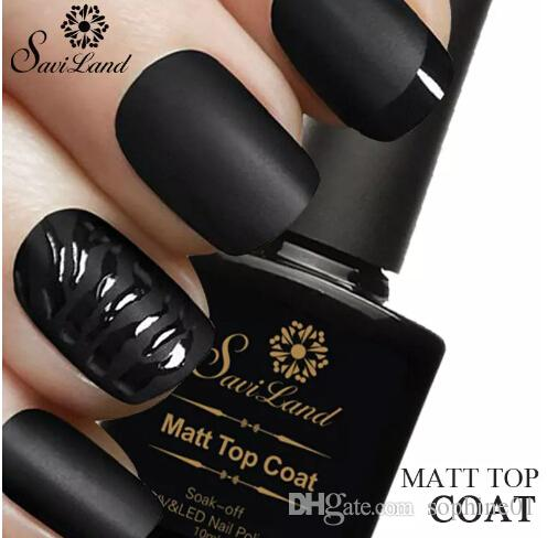 10ml Matt Varnish Matte Top Coat Nail Gel Polish Nail Art Finish Top