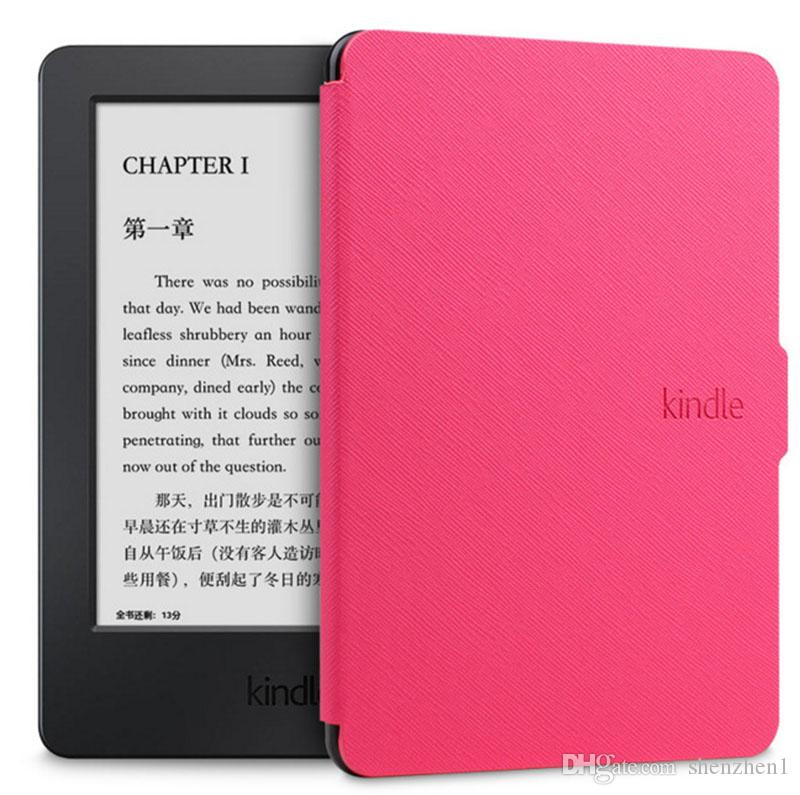 Amazon Kindle Paperwhite 1/2/3 Ultra Slim Leather Case Cover Tablet 6 inch eReader Shell Case With Sleep WakeUp Function PCC061