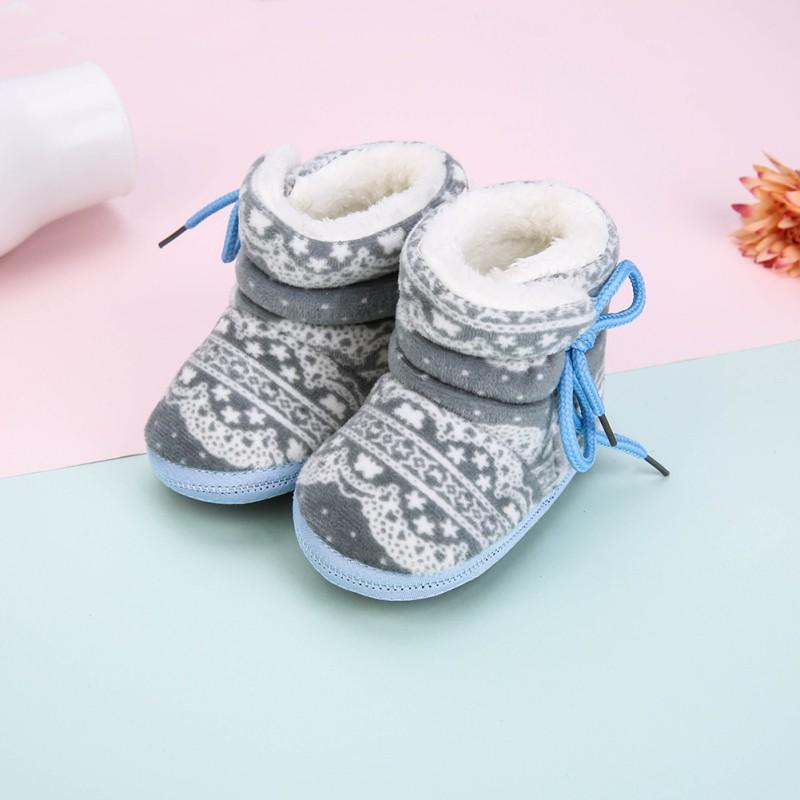 best cheap bbc55 d1a22 Baby warme Winterstiefel neu Baby Mädchen Schuhe Baumwollgewebe Schnee  warme Stiefel
