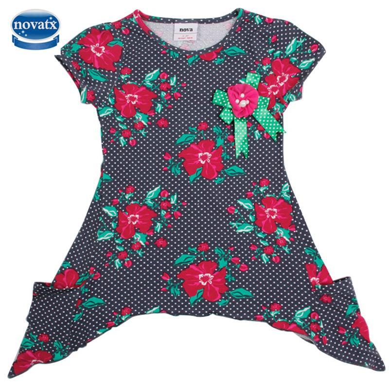 2016 DRESS NOVA kids child clothes lovely autumn cartoon girls dress baby fashion nova kids wear child dresses baby frocks