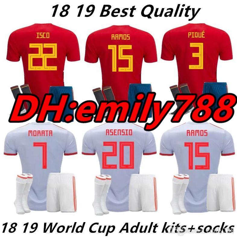 c5f84b4ac5e Cheap Soccer Jerseys Uniforms Real Madrid Best Spain Soccer Jersey Kids