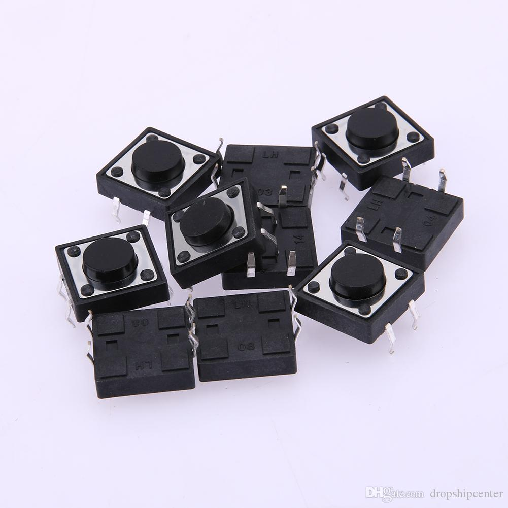 14 Type Tactile Switch Electronics Push Button Switch SMD Assortment ...
