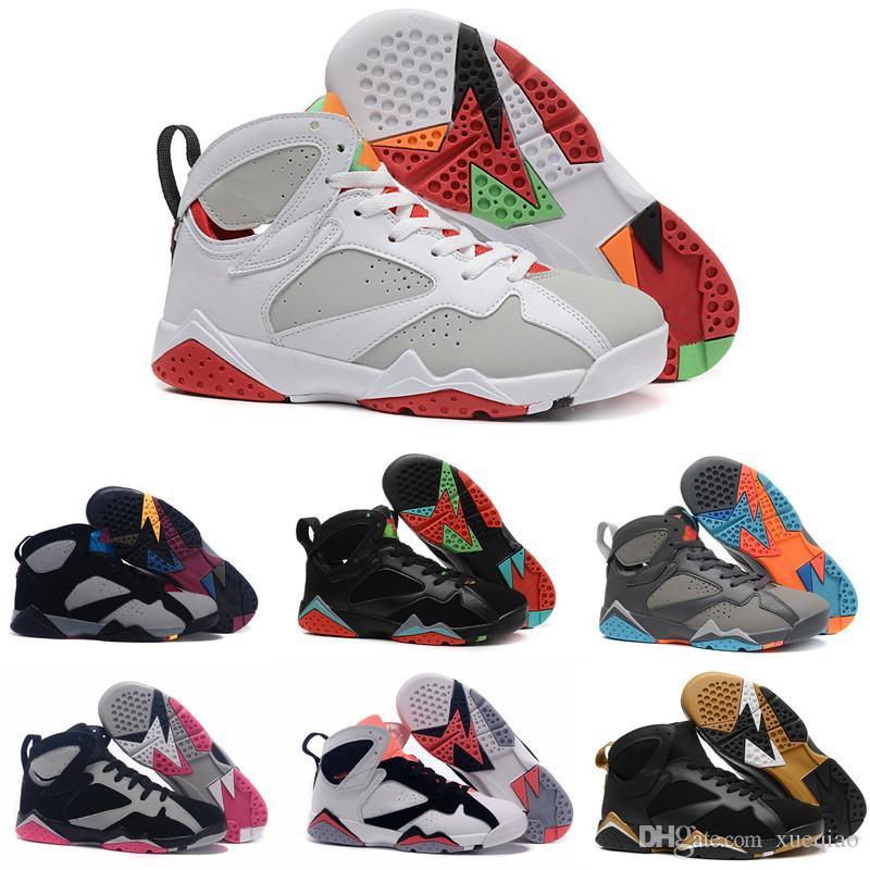 613a6eb6630 High Quality Basketball Shoes 7 7s Black Red White Bordeaux Marvin ...