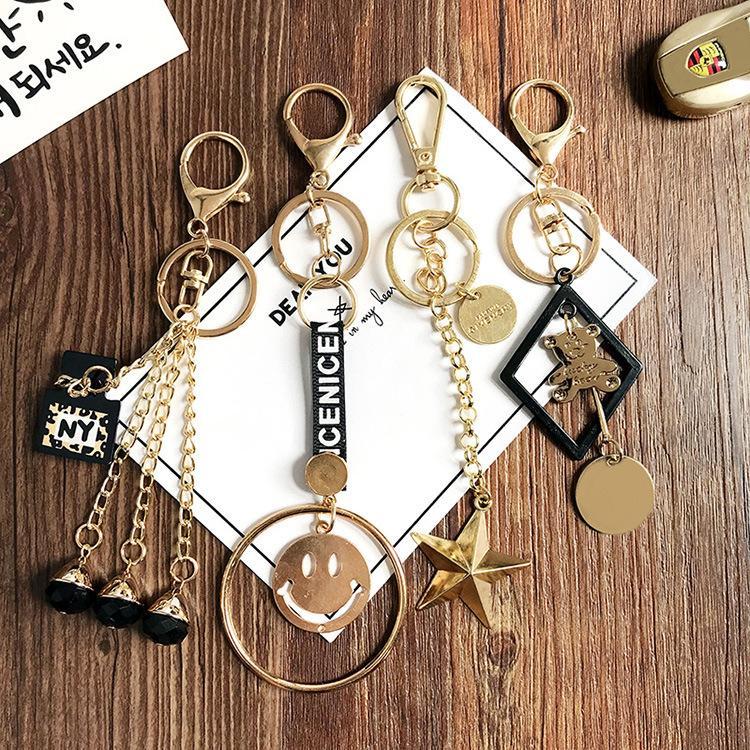 Gold Tone Fahion Womens Luxury Keychain Bag Charm Metal Multi Style  Beautiful Women Key Chians Holder Keyring Handbag Pendant Best Friend  Keychains Couples ... b396fc55b7