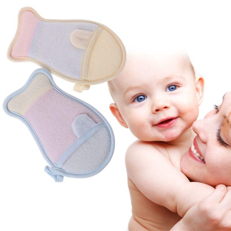 2018 Brand Newborn Baby Bath Brush Fish Shape Infant Shower Sponge ...