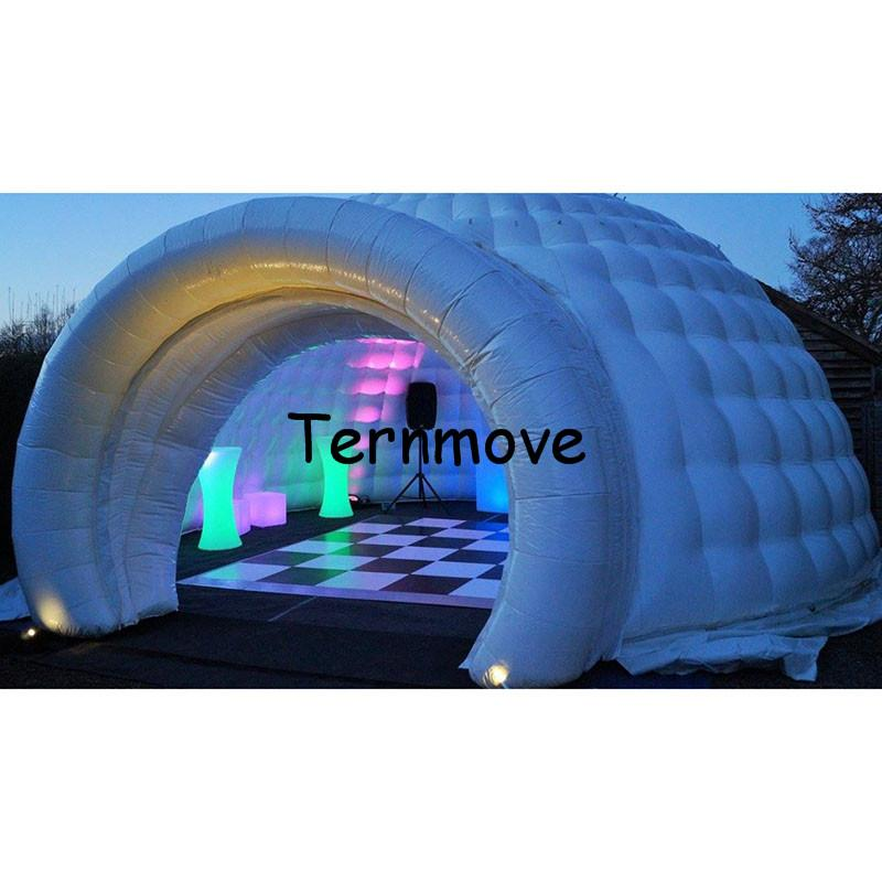Inflatable Igloo Tent Inflatable Event Tents Portable Marquee Tents With Led Lights Toys Dome Party Tent Shelter Christmas Cards Shelters Of Animals From ...  sc 1 st  DHgate.com & Inflatable Igloo Tent Inflatable Event Tents Portable Marquee ...