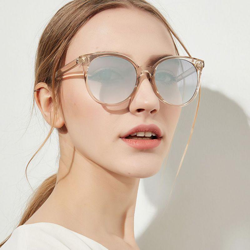 c7561ef0830b 2018 New Arrive Round Sunglasses Fashion Summer Women Brand Designer  Sunglases Woman Sun Glasses Gafas Feminino Oculos De Sol Glasses Online  Polarized ...