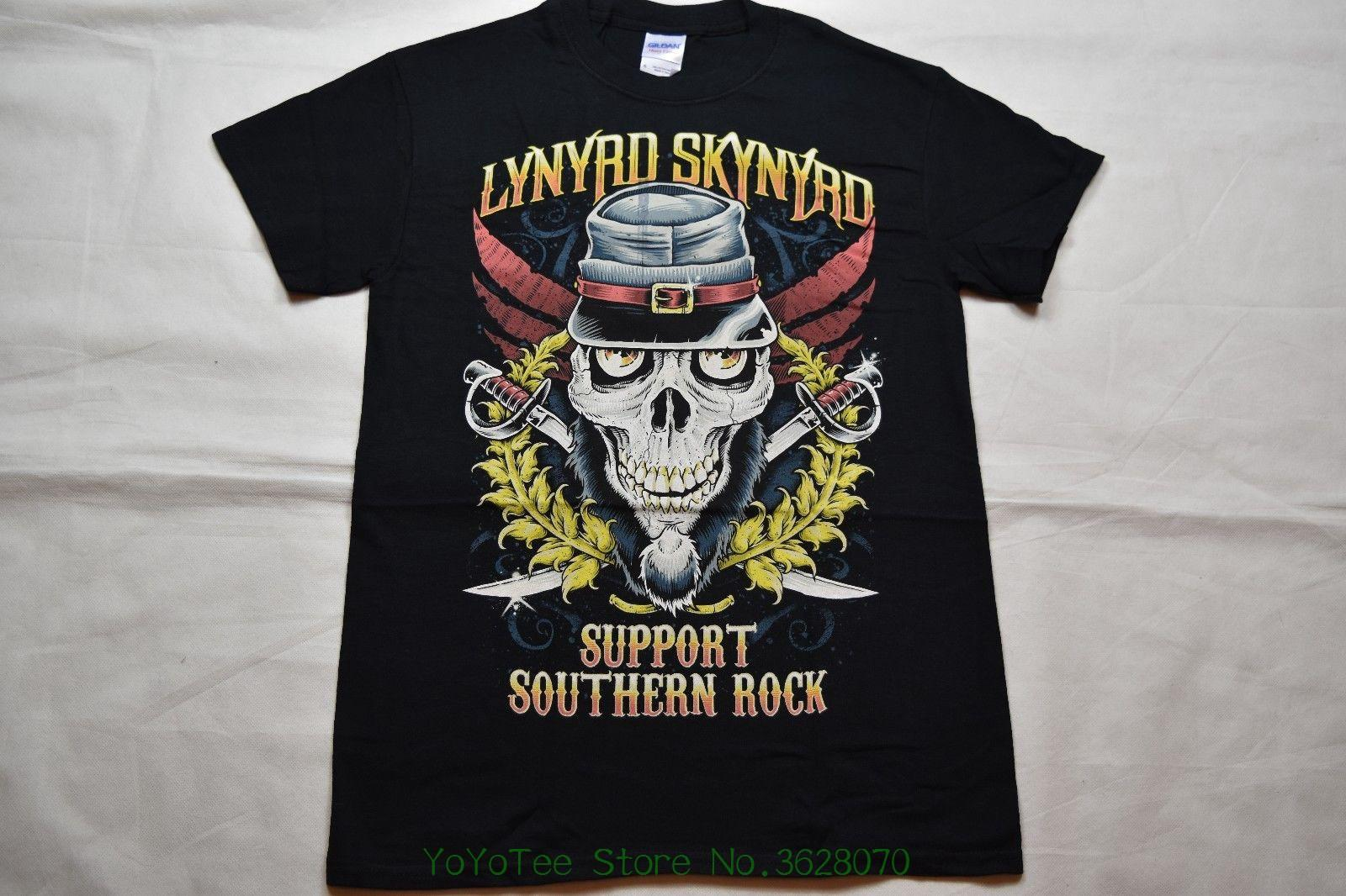 b783f35fe68cb Men T Shirt Lynyrd Skynyrd Support Southern Rock T Shirt New Official  Freebird Pronounced Buy Cool Shirts Online Funny T Shirt Sites From  Yoyoteestore