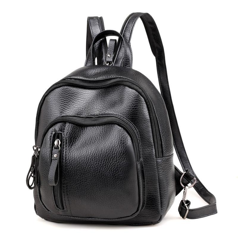 Aresland Small Backpacks School Bags For Teenager Girls Backbag Daily  Rucksack Black Leather Women Backpack Travel Shoulder Bag Gregory Backpacks  Army ... b8c40030de449