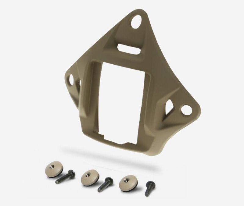Tactical Ops-Kern Vas Shroud Lightweight Aluminium Helm Nachtsicht NVG Mount getrocknete Tintenfische Fit ACH MICH PASGT