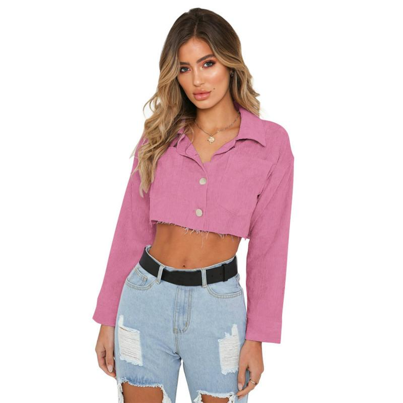 0c9cb64424f 2019 2018 Oversize Women Blouses Long Sleeve Shirts Cropped Sexy Turn Down  Collar Shirt Casual Tunic Blusas For Girls From Watch2013, $26.53 |  DHgate.Com