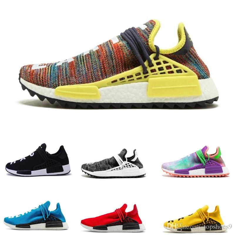 Black Colette NMD Human Race Trainers Running Shoes Men Women Pharrell  Williams HU Runner Yellow Nerd Core Black White Red Sports Sneaker Running  Sneakers ... bf79ae049c44