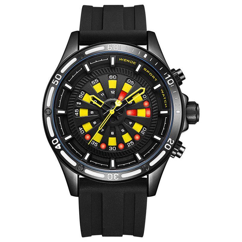 5122d67bfd78 Compre Venta Al Por Mayor De Los Hombres A Prueba De Agua Reloj Deportivo  Fecha De La Energía Solar Reloj De Pulsera De Cuarzo Banda De Silicona Reloj  Reloj ...