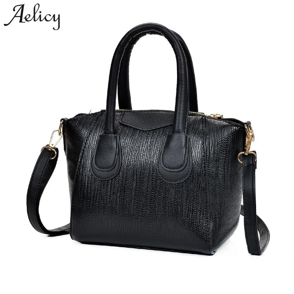 Aelicy Luxury Pu Leather Bag Female Vintage Messenger Women Handbag Cross  Body New Design Ladies Women S Purses And Hand Bag Womens Purses Leather  Bags For ... 38d84ed3e96c3