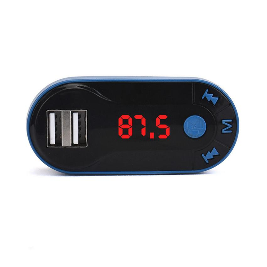 MP3 Çalar Bluetooth Araç Kiti Bluetooth Kablosuz FM Verici MP3 Çalar Araç Kiti USB şarj TF SD Uzaktan GGA93 Handsfree