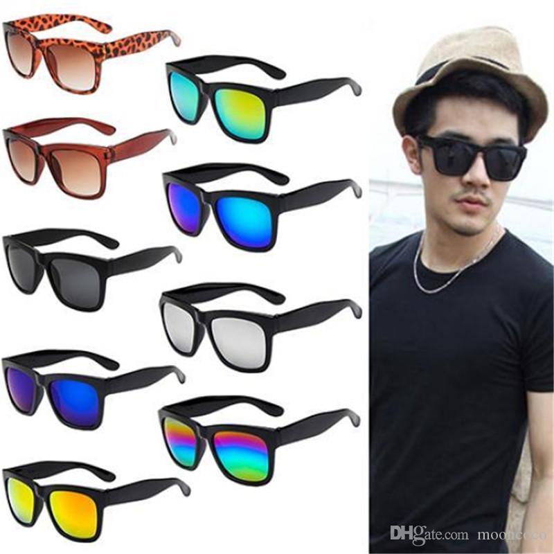 da9fb6f11 Compre Óculos De Sol Do Vintage Mulheres Homens 2018 Mais Novo Designer De Marca  Feminino Masculino Retro Óculos De Sol Das Mulheres Óculos Espelhado De ...