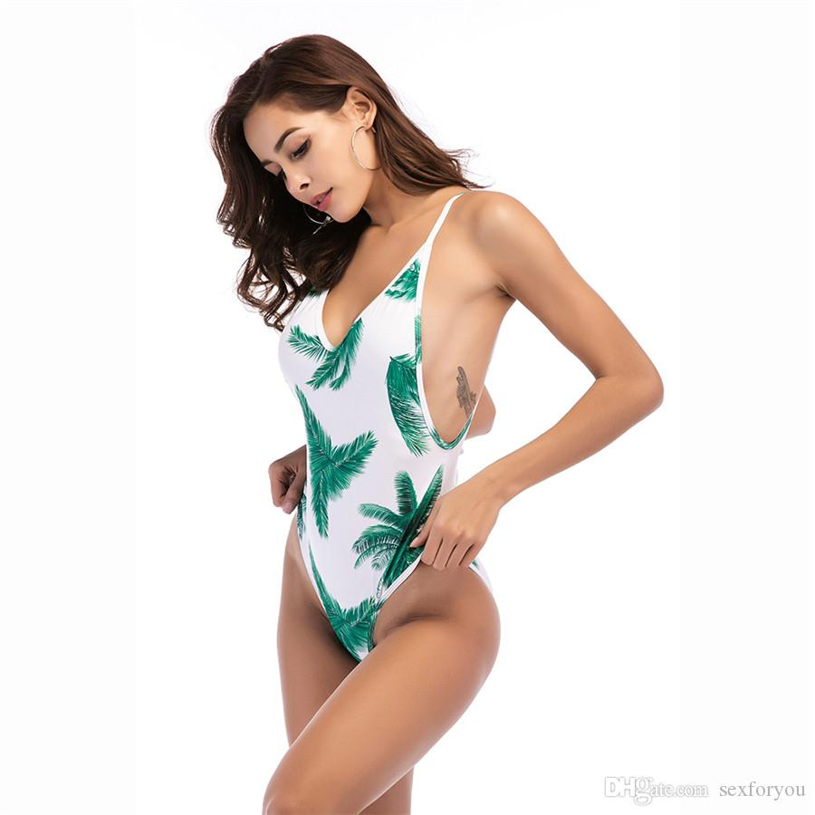 New Sexy Swimming Suit Women's One Piece Swimsuit Biquinis Bathing Suit Swimwear Female One-Piece Suits Bodysuit Trikini