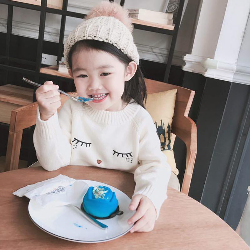 Nova 2018 Família Roupas Casamentos Sweaters Mãe e Filha Roupas Blusas de Cílios Brancos para a Mãe e Crianças Camisolas Cardigan