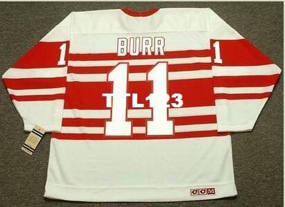 4c73e96f0 2019 Men  11 SHAWN BURR Detroit Red Wings 1992 CCM Vintage Hockey Jersey Or  Custom Any Name Or Number Retro Jersey From Ttl123