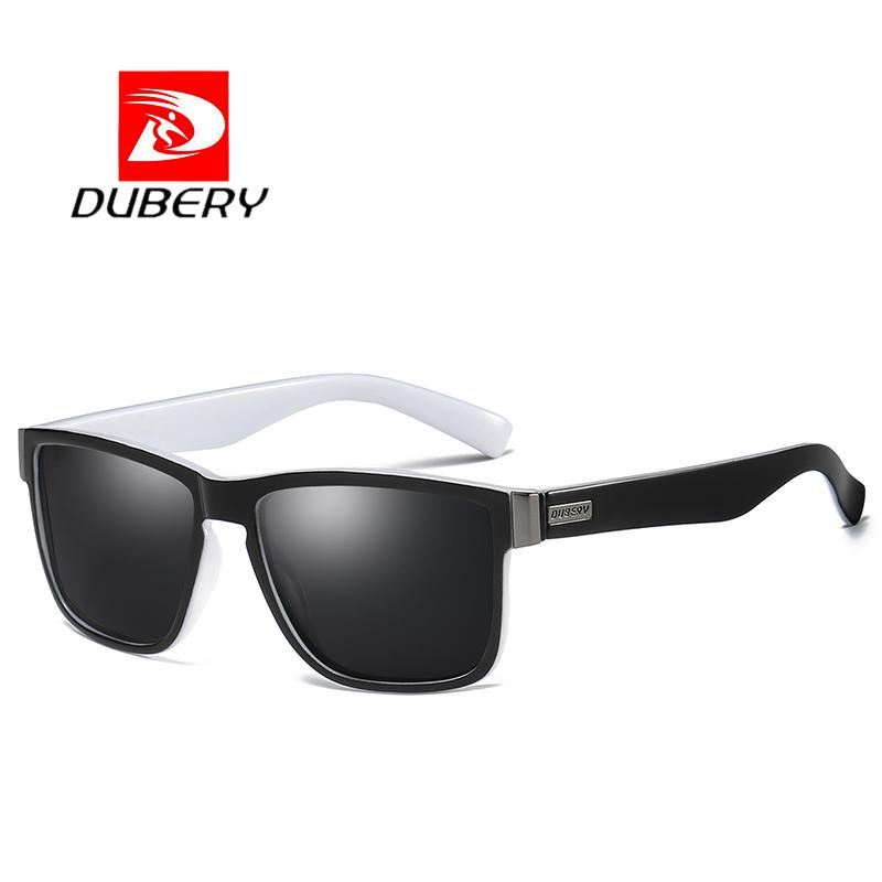 b070012966b22 DUBERY Brand Design Polarized Sunglasses Men Driver Shades Male Vintage Sun  Glasses For Men Spuare Mirror Summer UV400 Oculos Prescription Glasses  Sunglass ...