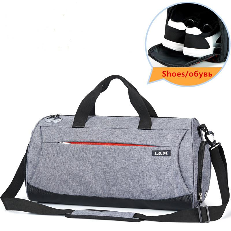 f3a6ace917 Large Waterproof Men Gym Bag Training Fitness Yoga Women Outdoor ...