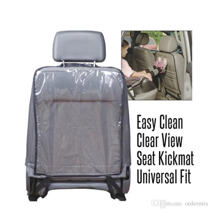 Crianças Car Auto Assento Traseiro Protetor Capa Para Crianças Chute Tapete Lama Limpo Acessórios Do Carro Tampas de Assento car styling 2017 Novo